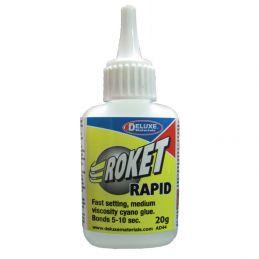 Deluxe Materials Roket Rapid Cyanoacrylate Super Glue