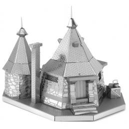 Metal Earth Harry Potter Rubeus Hagrid Hut 3D Metal Model Kit