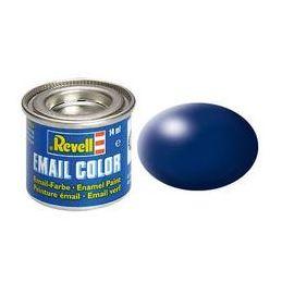 Revell Solid Silk Matt Enamel Paint - Lufthansa Blue