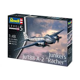 "Revell 1/48 Scale Junkers Ju188 A-1 ""Rächer"""