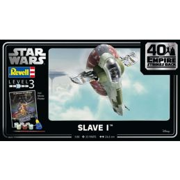 Revell 1/88 Scale Gift Set - Slave I (The Empire Strikes Back 40th Anniversary)