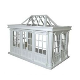 Deluxe Conservatory White 1:12 Scale for Dolls House