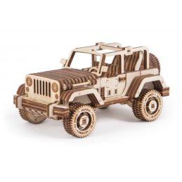 Wood Trick Safari Car