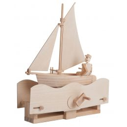 Timberkits Salty Sailor Wooden Model Kit