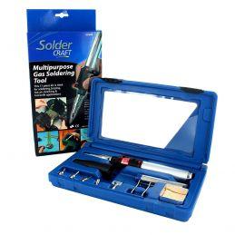 Soldercraft Multi-purpose Gas Soldering Tool Kit