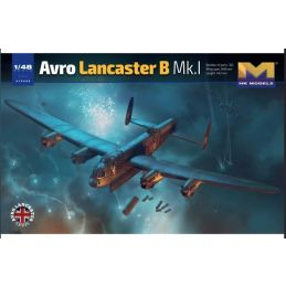 HK Models 1/48 Avro Lancaster B Mk I Plastic Model Kit