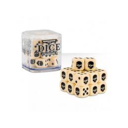 Warhammer Dice Cube - Bone