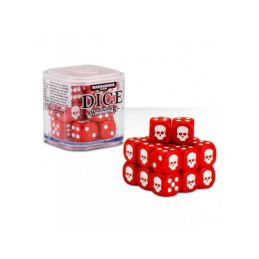 Warhammer Dice Cube - Red