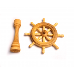 Mantua Models Ships Wheel Set