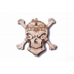 Wood Trick Skull