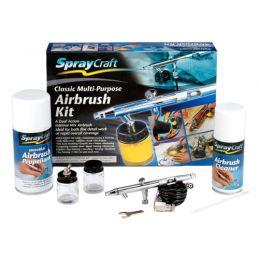 Spraycraft Multi-Purpose Airbrush Kit