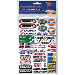 Sponsors Custom Decals Medium