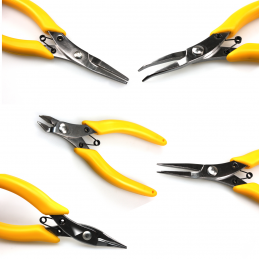 Stainless Steel Hobby Pliers and Cutters