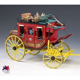 Amati Old West Stage Coach 10th Scale High Quality Wood and Metal Model Kit