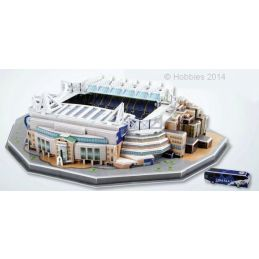 3D Chelsea Football Club Stamford Bridge Stadium Model Kit