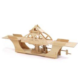 Pathfinders Swing Bridge Educational Wood Kit
