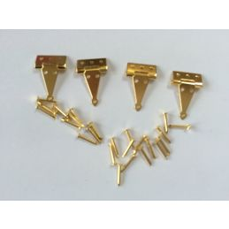 4 Tee Hinges With Pins