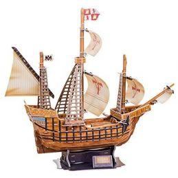 CubicFun T4008H Santa Maria (Christopher Columbus) 3D Puzzle