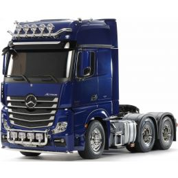 Tamiya Mercedes-Benz Actros 3363 6x4 GigaSpace Limited Edition Pearl Blue