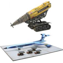 Thunderbirds The Mole and Fireflash Plastic Model Kit Deal