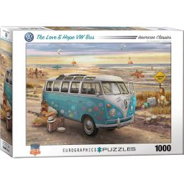Eurographics The Love & Hope VW Bus Jigsaw Puzzle