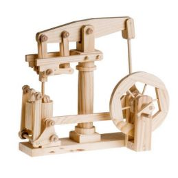 Timberkits Beam Engine Automation Educational Timber Wood Kit