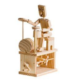 Timberkits Drummer Educational Timber Wood Automation Kit