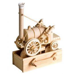 Timberkits Stephensons Rocket Automation Timber Wood Kit