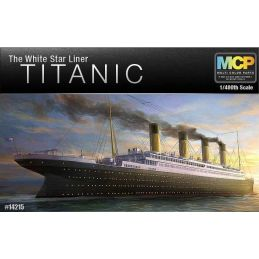 Academy The White Star Liner Titanic 1:400 Scale Plastic Model Ship Kit