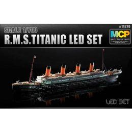 Academy RMS Titanic LED set 1:700 Scale Plastic Model Ship Kit