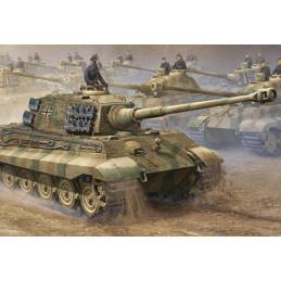 Trumpeter King Tiger Tank 16th Scale Plastic Model Kit