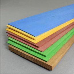Multi-Coloured Balsa Bundle - Pack of 8 panels