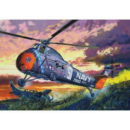 H-34 US Navy Rescue Plastic Model Kit