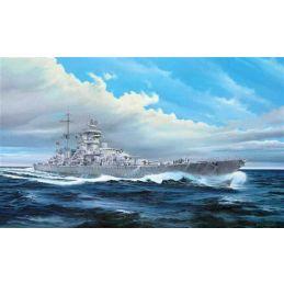 Trumpeter Prinz Eugen German Cruiser 1945 1:350 Scale