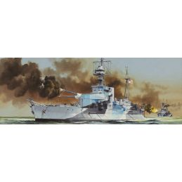 Trumpeter HMS Roberts Monitor 1:350 Scale Detailed Plastic Model Ship Kit