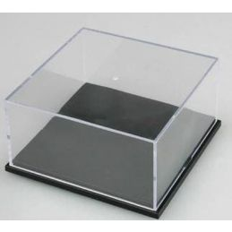 Trumpeter 118 x 118 x 60mm Crystal Clear Stackable Display Case