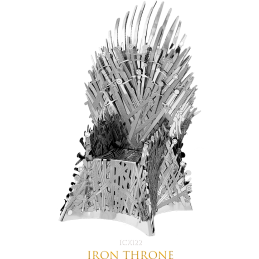 Game of Thrones Iron Throne 3D Metal Model