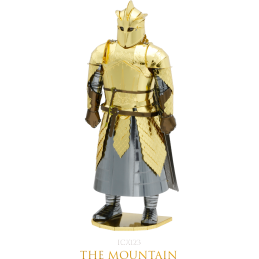 Game of Thrones The Mountain 3D Metal Model