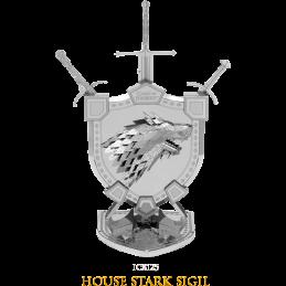Game of Thrones House Stark Sigil 3D Metal Model