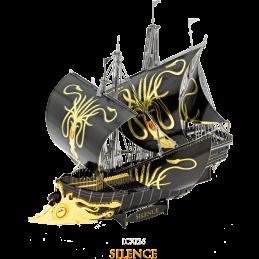 Game of Thrones Greyjoy Ship Silience 3D Metal Model