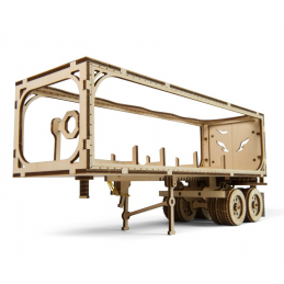 UGears Trailer for Heavy Boy Truck VM-03 Wooden Kit