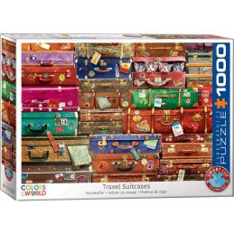 Eurographics Travel Suitcases 1000 Piece Jigsaw