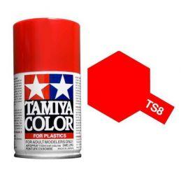 Tamiya Colour Spray Paint (100ml) - Italian Red