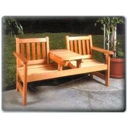 Twin Seater Bench Plan
