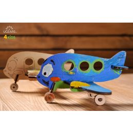 UGears 3D Colouring Model Airplane