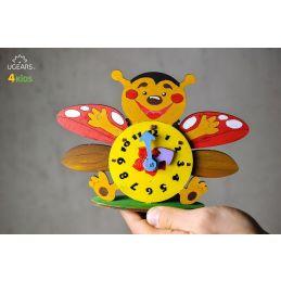 UGears 3D Colouring Model Clock