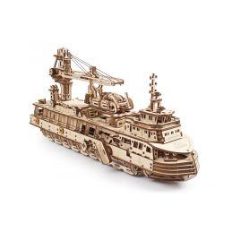 UGears Research Vessel Wooden Kit