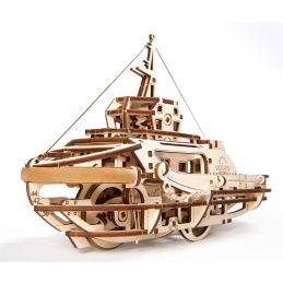 UGears Model Tugboat Wooden Kit