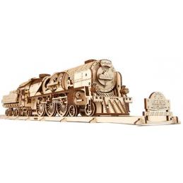UGears V-Express Steam Train Wooden Kit