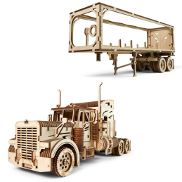 UGears Truck and Trailer Wooden Construction Kit Deal